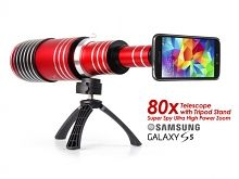 Samsung Галактика S5 супер шпион Ультра высокой мощности зум 80х телескоп с штатив