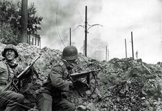 Two German feldwebels in the Battle of Stalingrad - October 7, 1942 - Geller