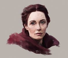 Game Of Thrones - Firat Bilal - ''The Red Priestess Melisandre'' ----