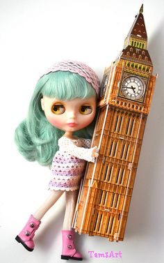 Running away with Big Ben..., by TamsArt *