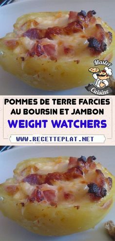 Weigth Watchers, Plats Weight Watchers, Easy Cooking, Bon Appetit, Baked Potato, Good Food, Food And Drink, Lose Weight, Healthy Recipes