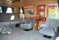 2011 Council Of Councils Van Show Ford Econoline Custom Interior