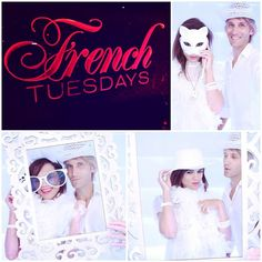 French Tuesdays @ W Hotel Hollywood L.A w/ @thefairchilds  #frenchtuesday #french #tuesday #whiteparty #soireeblanche #losangeles #Hollywood #whotel #rooftop #photobooth #fotopodbooth #thefairchilds #me #melissamars #fun #funpics