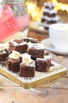 Backmischung: Schneller Schokokuchen & Zimt Marshmallows - Chocolate Cake with cinnamon marshmallows | Das Knusperstübchen
