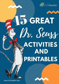 Here's a look at our favorite Dr. Seuss lesson plans, broken down by book and. Dr Seuss Activities, Library Activities, Language Activities, Fun Activities, Classroom Activities, Reading Activities, Sequencing Activities, Reading Fluency, Classroom Crafts