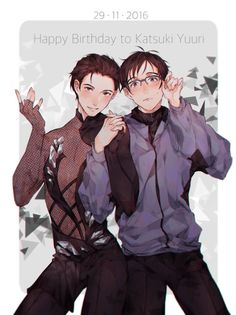 Happy birthday, Yuuri!!! — Let it shine!