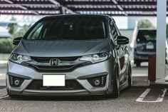 Honda Fit GK5 Honda Civic Vtec, Honda Hrv, 2016 Honda Fit, Honda Jazz, Mens Toys, Rims For Cars, Ac Cobra, Japan Cars, Small Cars