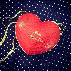 Photo by marisadeguara #moschino #love #heart #mymoschino #bag