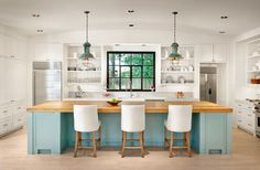 W. Creekside Residence - farmhouse - Kitchen - Other Metro - Dillon Kyle Architecture
