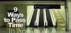 Come passare il tempo in aeroporto, di notte