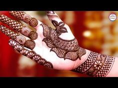 Latest Mehndi Designs For Hands   Arabic Henna   Henna Tattoo by Jyoti Sachdeva. - YouTube