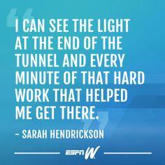 Sarah Hendrickson, Olympic ski jumper.