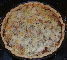 Growing Days: Craving Summer and BBT Pie. (Bacon, Basil, and Tomato Pie, That Is.)