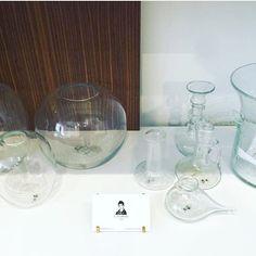 Thank you @la_maison_de_deux for the beautiful display of our pieces!! #lasoufflerie #handmade #handmadeglass #artisanal #artisanofinstagram #glass