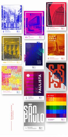 """São Paulo, knowning by Brazilians as """"the concrete jungle"""" is a vast gray landscape with skyscrapers, diversity in culture, leisure and ethnicities.This city branding proposition try to represent their multiracial lines, mixing the modern with the class…"""