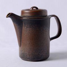 ARABIA/Ruska Scandinavian Dinnerware, Humpty Dumpty, Tea Pots, Ceramics, Future, Coffee, Tableware, Vintage, Ceramica
