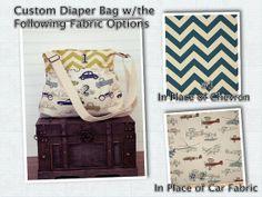 Custom Large Diaper Bag  Stroller Bag  Baby by PreciousLittleTot, $114.99