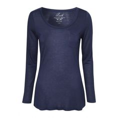 See this and similar t-shirts - Stock up on your basics with this womens long sleeve pocket Tshirt. Suitable for all occasions, this long sleeve Tshirt is the p...