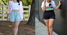 Como usar shorts cintura alta e parecer mais magra