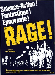 RAGE (Titre original: RABID) de David CRONENBERG, 1976