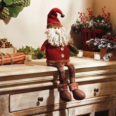 Rustic Santa Shelf Sitter   Kirklands
