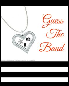 Heart of Glass. Tide is High. Hanging on the Telephone. Picture this. BLONDIE!! Origami Owl meets music bands! http://toriandnacona.origamiowl.com