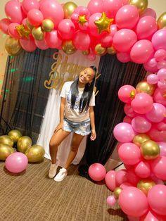 Girls 15th bithday ideas, birthday balloons, hotel party, Hotel Birthday Parties, Hotel Party, Teenager Birthday, Girl Birthday, Kid N Teenagers, Bad Kids, Birthday Balloons, Little Girls, Birthdays