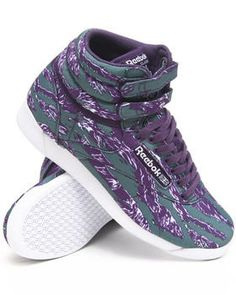 Love this Freestyle Hi INTL Sneakers by Reebok on DrJays. Take a look and get 20% off your next order!