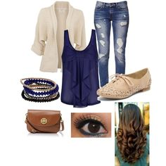 Love this outfit for just a regular day.