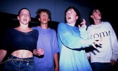 Madchester: Clubbers on the main stage at the Hacienda Club in 1989