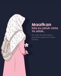 Gambar Kartun Muslimah Bercadar Jatuh Cinta Jatuh Cinta Kartun