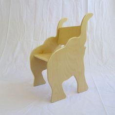 Silla elefante preparado a nave colección de por palomasnest