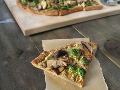 Gluten-Free Quinoa Pizza with Cashew Ricotta   Queen of Quinoa   Gluten-free + Quinoa Recipes
