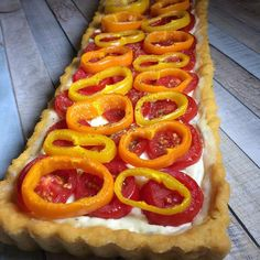 Onion Rings, Ethnic Recipes, Food, Pie, Red Peppers, Tomatoes, Summer Days, Eten, Meals