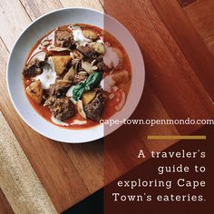 Travel Cape Town Places to eat things to do