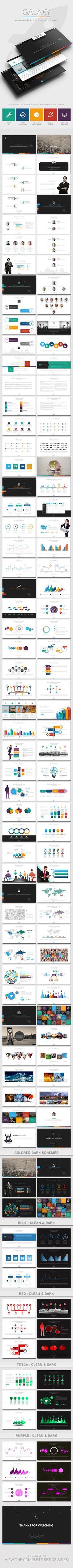 Powerpoint Template #powerpoint #powerpointtemplate Download: http://graphicriver.net/item/galaxy-powerpoint-template/10338206?ref=ksioks