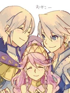 Fire Emblem Awakening Henry Olivia and Inigo