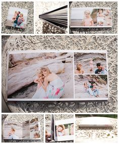Professional Fine Art Family Portrait Album - Kate Veronica Photography