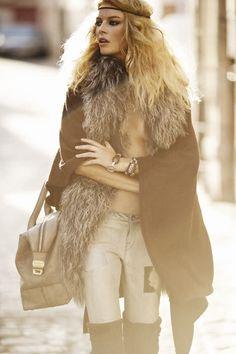 FIERCE Boho Shoot with Cristina Tosio in Elle Spain #bohemian ☮k☮