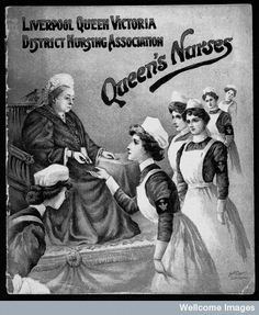 ☤ MD ☞☆☆☆ The Queen's Nursing Institute was founded in 1887 by Queen Victoria in the year of her own Golden Jubilee. It received its royal charter in 1889 when it became Queen Victoria's Jubilee Institute for Nurses.