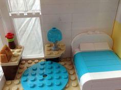 Construction Toys of the Year Lego Design, Legos, Lego Room Decor, Casa Lego, Lego Furniture, Minecraft Furniture, Bedroom Furniture, Construction Lego, Lego Bedroom