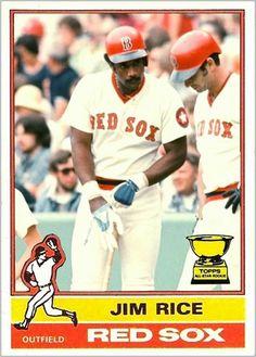 Baseball Classic, Baseball Star, Baseball Cards, Boston Red Sox Players, Mlb Players, Mlb Uniforms, Baseball Uniforms, Jim Rice, Boston Sports