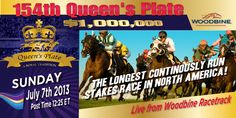Wager on the Queens Plate from Woodbine at BetPTC.com. U.S. residents only