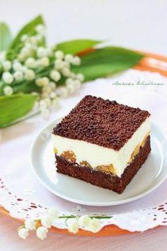 Sen ogrodnika3 Polish Desserts, Polish Recipes, No Bake Cake, Sweet Recipes, Cupcake Cakes, Cake Decorating, Sweet Tooth, Food And Drink, Tasty