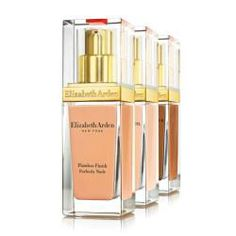 Elizabeth Arden has unveiled its new foundation, Flawless Finish Perfectly Nude Make-Up SPF15 (£28).