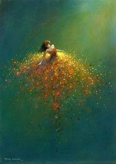 Art Illustration by Jimmy Lawlor. Jimmy Lawlor, Love Art, Oeuvre D'art, Painting Inspiration, Painting & Drawing, Dream Painting, Dress Drawing, Amazing Art, Fantasy Art