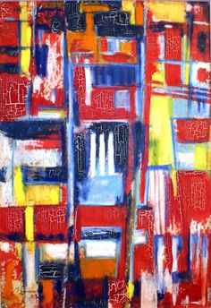 Balconies 2, 2009, Oil on canvas, 81 x 55.5cm (31.89 x 21.85 inch), Private collection.  All images are used with the permission by the artist. Re-Pinning is permitted, however, please do not distribute, reproduce, reuse in any shape or form without first contacting the artist. marwan@art-factory.us © Marwan Chamaa.