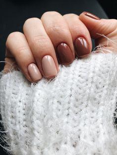 Эффектный маникюр на короткие ногти: стильн… Manucure efficace pour les ongles courts: élégant, beau et à la mode – in 2020 Classy Nails, Trendy Nails, Simple Nails, Cute Nails, My Nails, Hair And Nails, Fall Nails, Short Nail Manicure, Manicure Y Pedicure