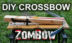 Build your own diy crossbow http://go-repairs.blogspot.co.uk/2014/07/diy-crossbow.html