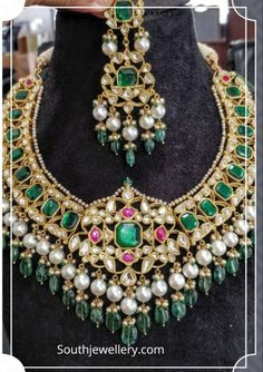 Claudia/'s Beauty Flair Jewelry Fancy red Tear Drop Necklace Earring Set for Women